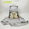 bamboo hooded baby towel bw01 grey towel 90*90cm
