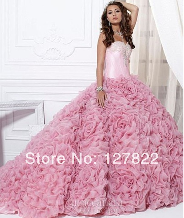 Most Beautiful Ball Gown Wedding Dresses: JY0030 The Most Beautiful Ball Gown 2014 Expensive Ball