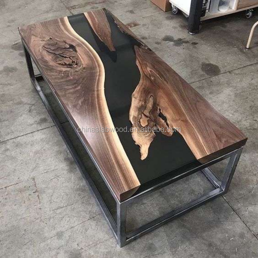 Top Glass Epoxy Resin Wood Table And Coffee Table Buy Coffee Table Solid Wood Coffee Table With Glass Top Epoxy Resin Table Top Product On Alibaba Com
