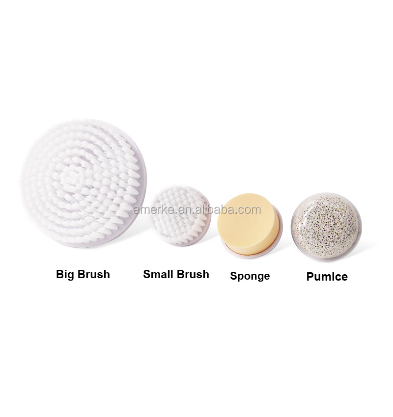Shenzhen beauty machine facial spa brush beauty care personal 5 in 1 face cleansing brush