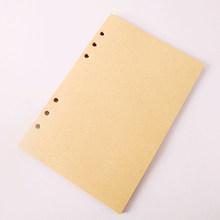 Винтажный блокнот с кожаным покрытием в стиле ретро, пустой дневник, бумажная записная книжка пиратского дизайна, сменный блокнот для путеш...(Китай)