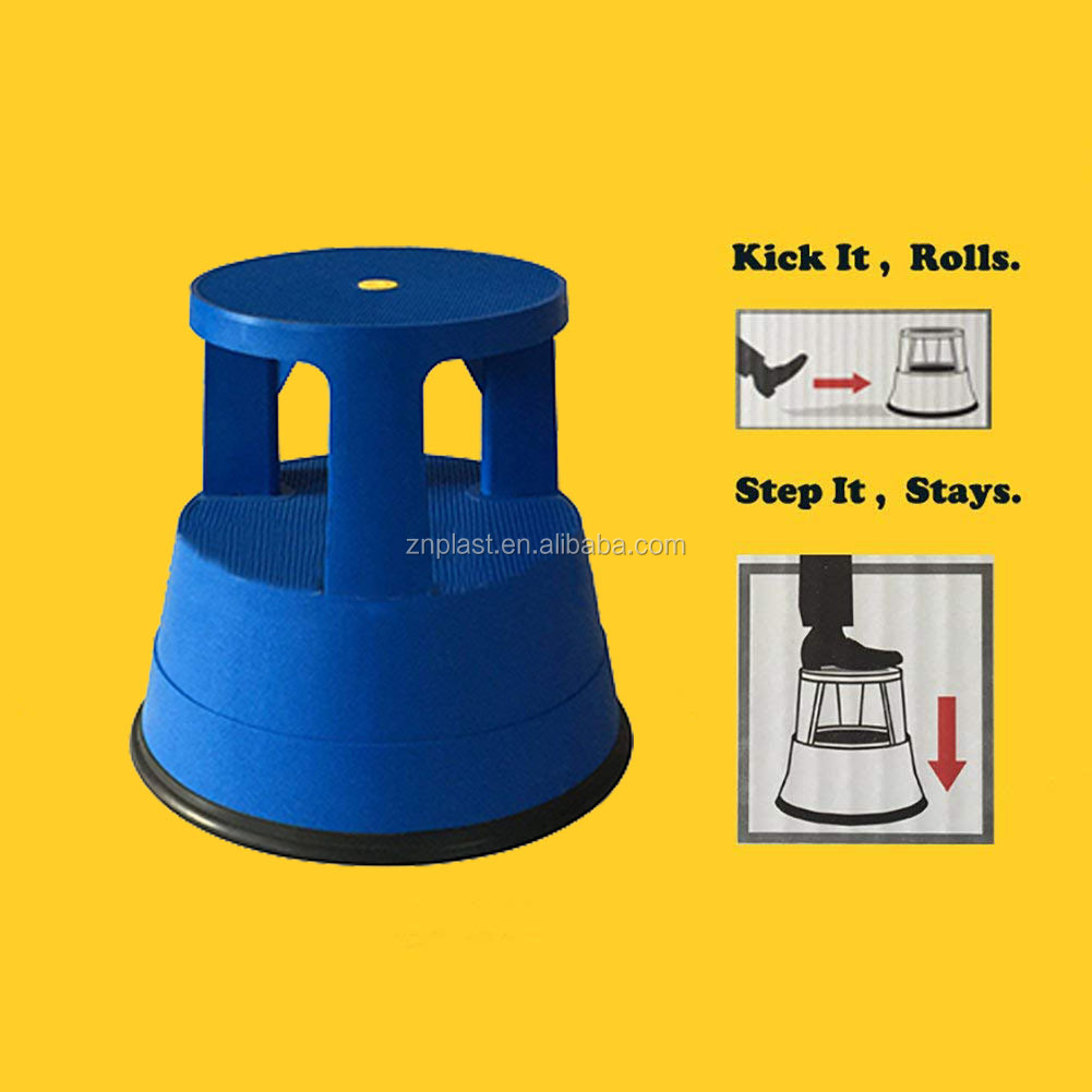 Safety Step/Rolling Kick Stool/Safety Stool