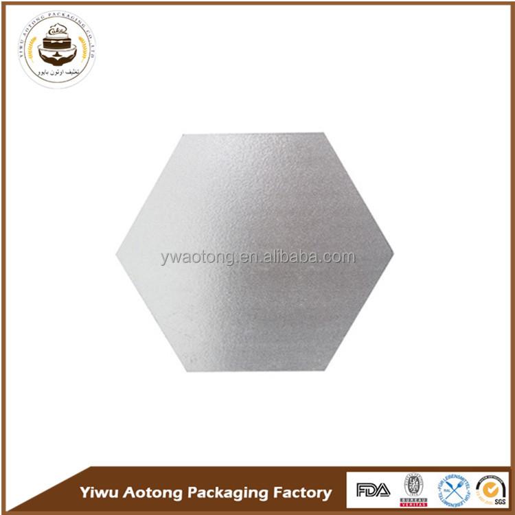 High quality gold round shape MDF masonite cake board for bakery