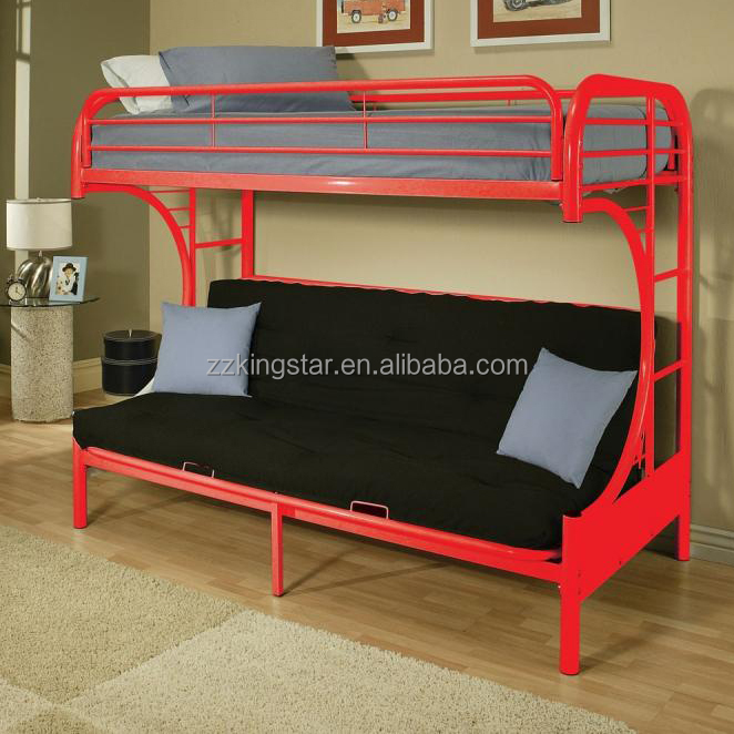 Metal Futon Bunk Bed For Adult