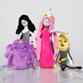 NEW 15cm 28cm Adventure Time Plush Bonnibel Bubblegum Lemongrab Marceline Lumpy Space Princess Plush Toy Doll