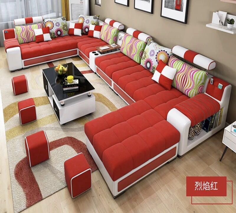 Bellagio U Shape Large Fabric Couch,Modern Corner Sofa Living Room U  Shaped-- Colour Selection - Buy Cheap Sofa Set,Sofa Set For Sales,Living  Room Sofa Bed Product On Alibaba.com
