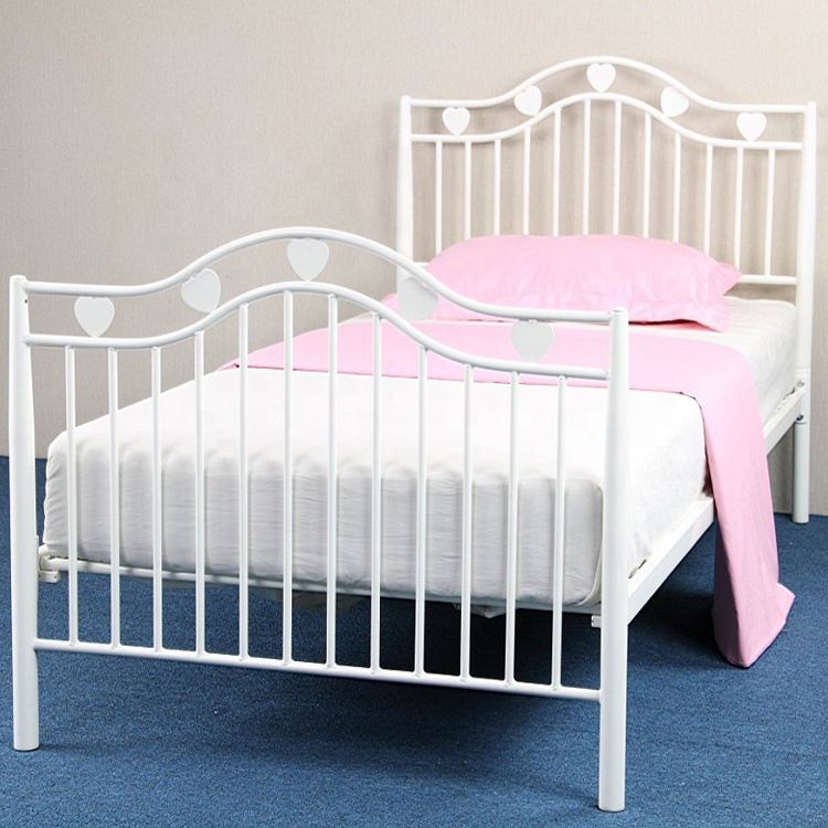Girls Bedroom Set Heart Shape Bed Buy Heart Shaped Beds For Sale Girl Style Wrought Iron Bed Girls Bedroom Set Single Bed Product On Alibaba Com