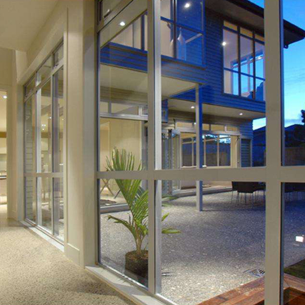 Aluminum Alloy Energy Saving Soundproof Reflective Low-e Insulated Glass Curtain Wall