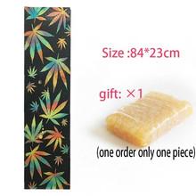 1 шт. 84x23 см скейтборд Griptapes PVC & Silicon Графический скейтборд ручка лента мини Лонгборд палубные ручки Песочная бумага(Китай)