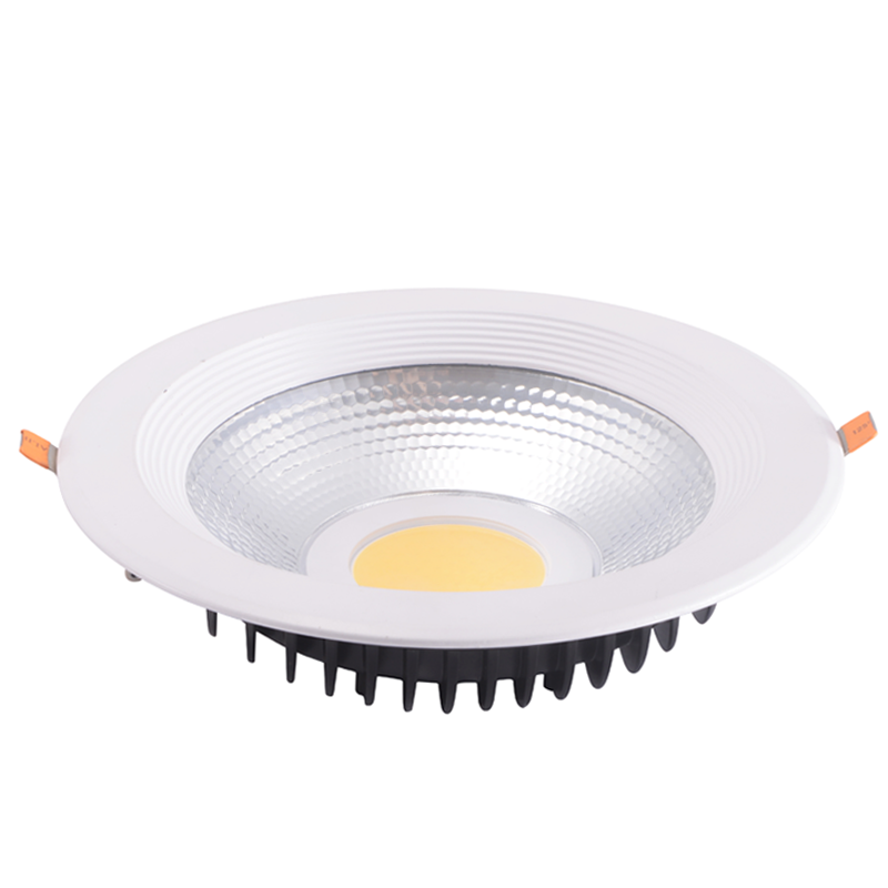 Factory wholesale epistar cob down light diameter 190mm 15w 18w 20w 6 inch led downlight slim down light diffuser down light
