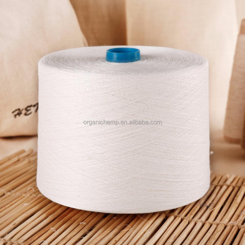 Поставка 55% конопляной пряжи/45% хлопчатобумажной пряжи 21Ne для плетения и вязания