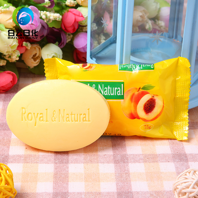 Factory sale good quality new 75g colorful harmony fruity toilet soap