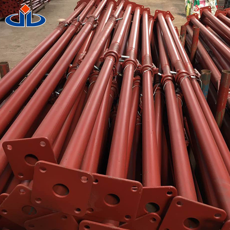 Pipe Support Shoring Props Jack 2200-3900mm Painted Adjustable Steel