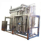 Internal spiral multi-effect distilled water plant need water for injection plant