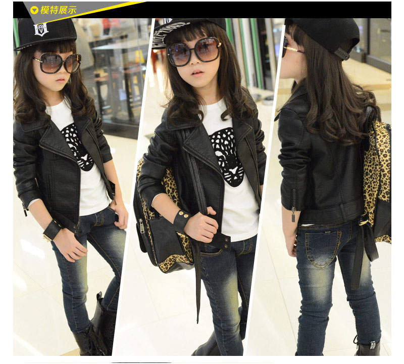 d7ee717c4 Detail Feedback Questions about Baby Girl Leather Jacket Kids Girls ...