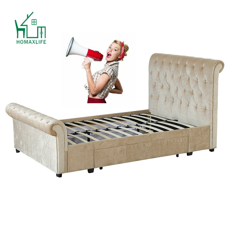 Free Sample Bedroom Set Queen King Size Bedroom Set Sleigh Bed Buy Parts Twin Cal King Size Queen Used Sleigh Bed Frame For Adjustable Bed Sale Upholstered Black Queen Cheap Big Lots