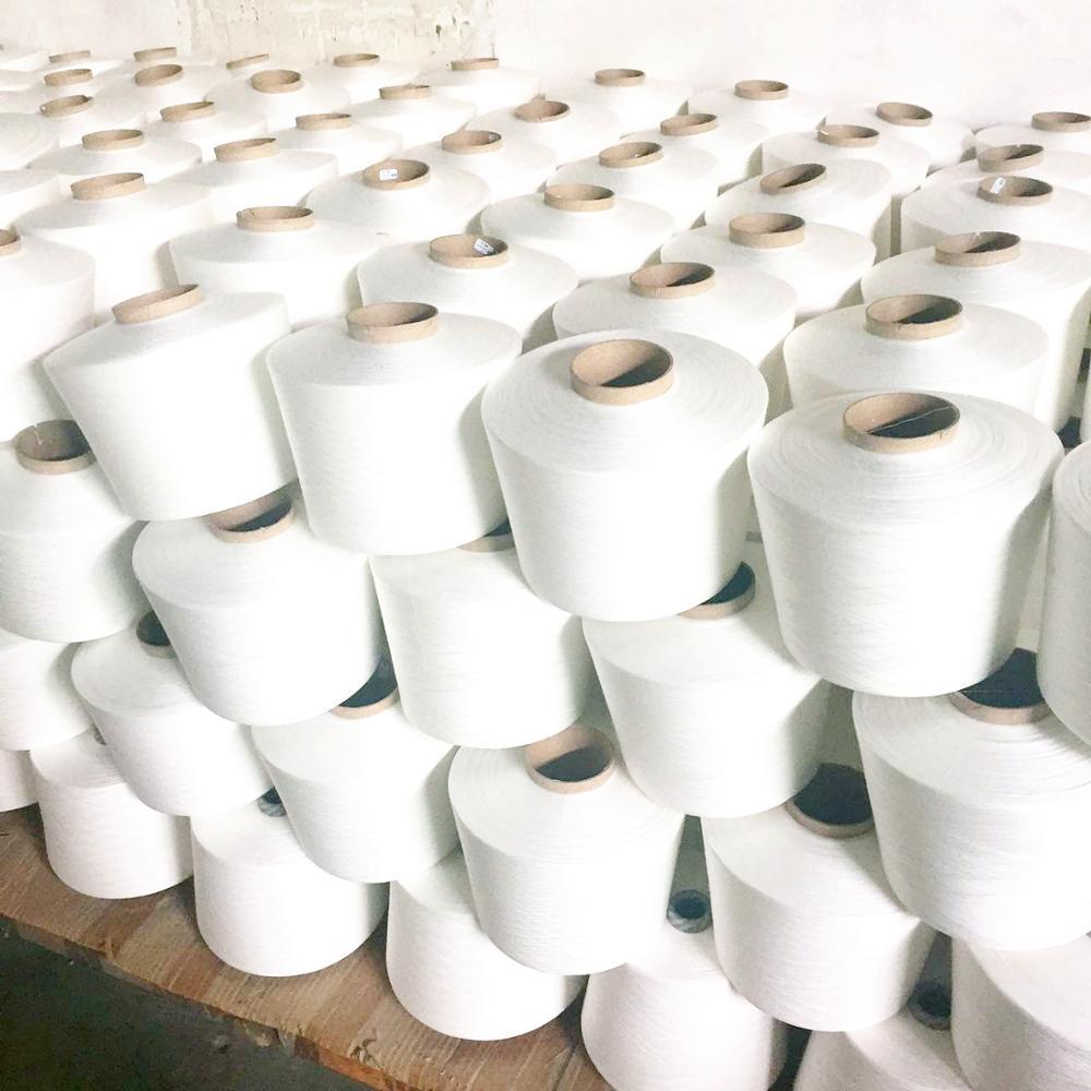 Переработанная текстурированная 100% полиэфирная пряжа