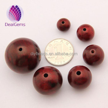 10mm Red rosewood loose round prayer wooden beads for jewelry making