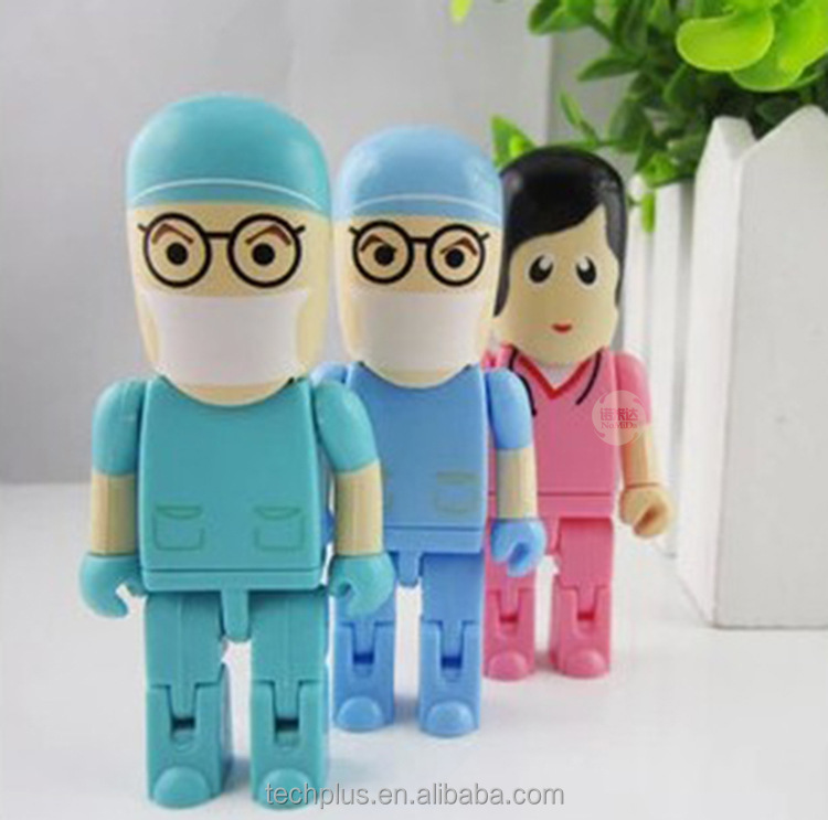 Hospital doctor nurse giveaways advertising pendrive usb flash drive 8gb - USBSKY | USBSKY.NET