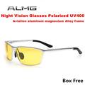 Hot Night vision glasses night polarized sunglasses driving men sunglasses brand design sun glasses oculos de