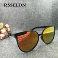RSSELDN 2017 Newest Fashion Cat Eye Sunglasses Women Luxury Brand Vintage Sun Glasses UV400 oculos de