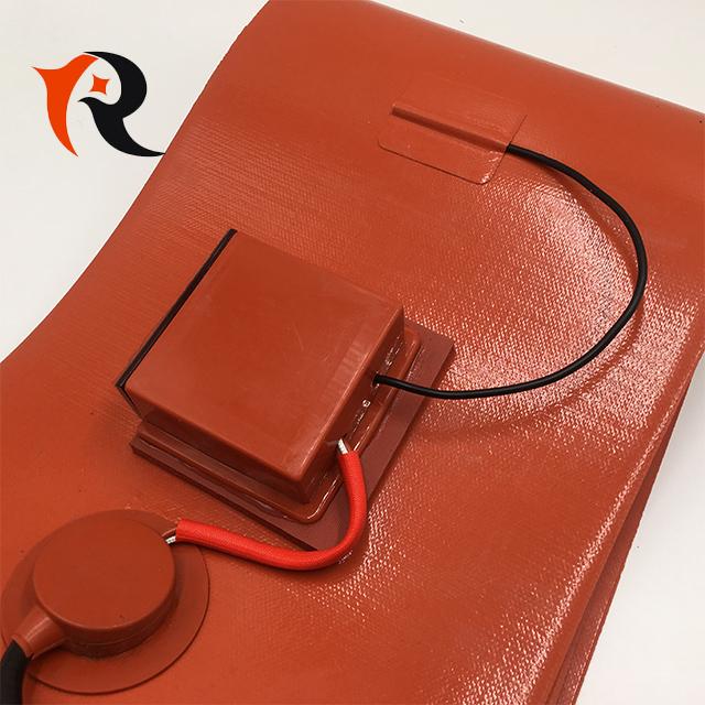 Гибкие электрические нагревательные ленты, силиконовый резиновый барабанный нагреватель