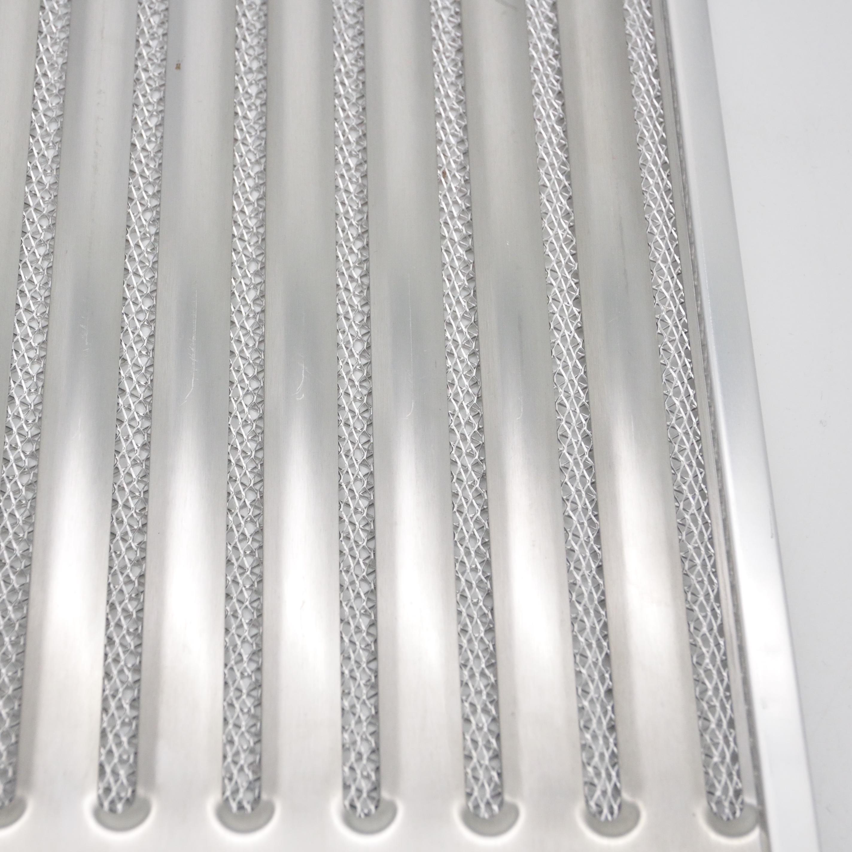 Washable High Efficiency Cooker Hood Stainless Steel Range Hood Grease Filter For Cooker Hood