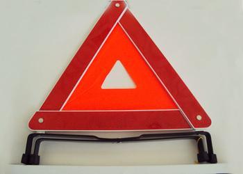 Автомобиль безопасности предупреждение д . а . рамка синяя коробка