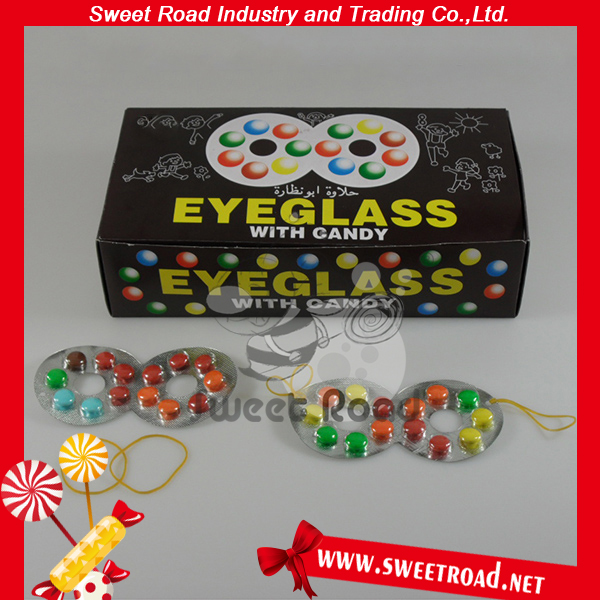 Eyeglass Chocolate Beans Candy View Candy Chocolate Beans Sweet Road Product Details From Shantou Sweet Road Industry And Trading Co Ltd On Alibaba Com