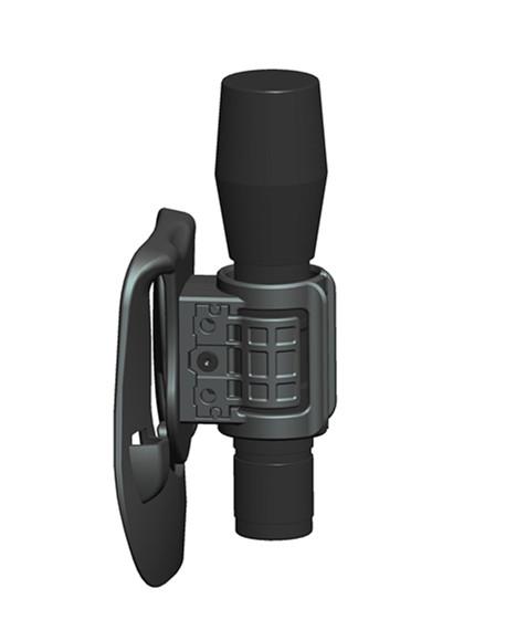 Универсальный Регулируемый полимерный держатель для фонарика, тактический, в стиле милитари, полиции, для улицы, высокое качество