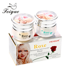Feique Rose natural extract for black skin face dark spot removal anti pimple skin whitening cream