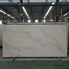 New Design Artificial Marble Look Calacatta Quartz Slab With Good Price For Kitchen Benchtop/worktop/countertops Vanity Tops