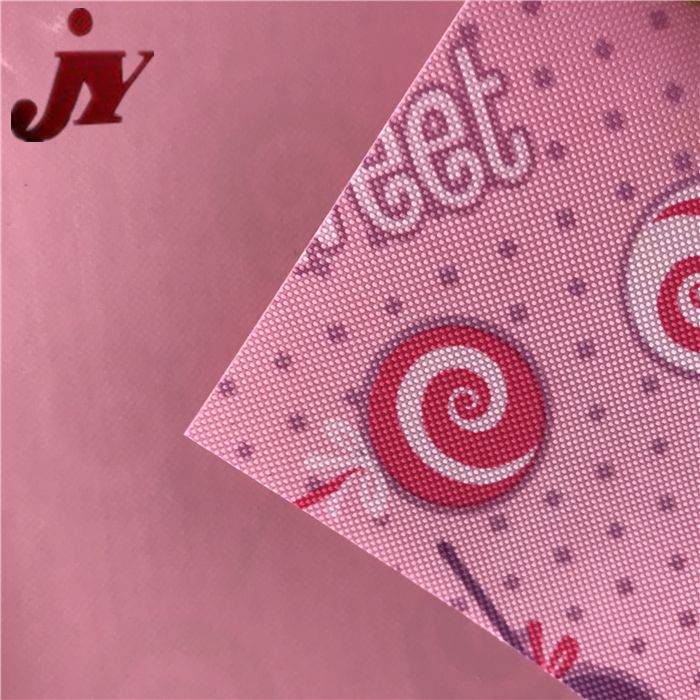 Hangzhou Jinyi Pvc Coated 300d Polyester Printed Waterproof Digital Fabric Design