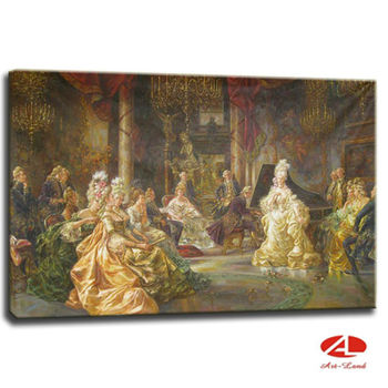 Classical palace royal art oil painting