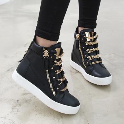 Korean Mid Heels Shoes