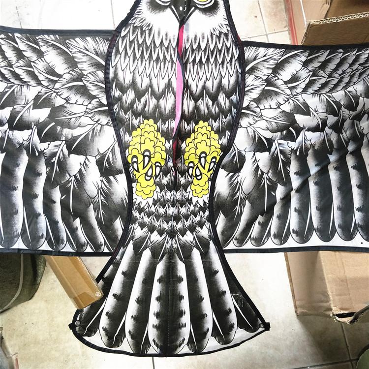 The factory sells 160cm Eagle Cartoon Three-dimensional Rigid Eagle Kite directly