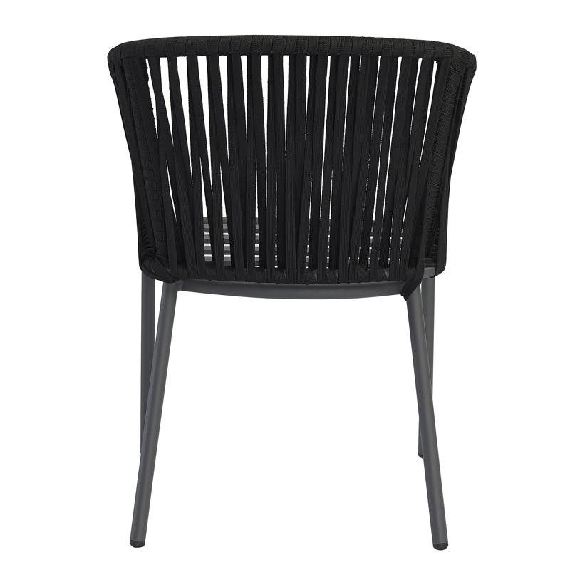 Modern Outdoor Furniture Garden Hotel Restaurant Rope Chair