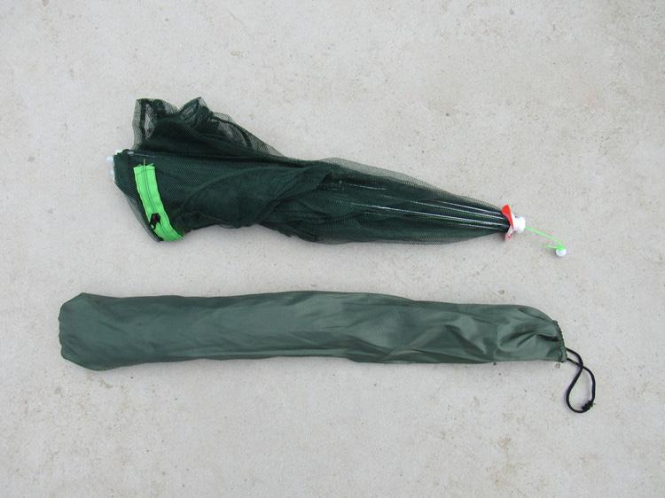 Peche Folded Portable 4-6-8-10-12-14-16 Holes Automatic Fishing Shrimp Trap Fishing Net