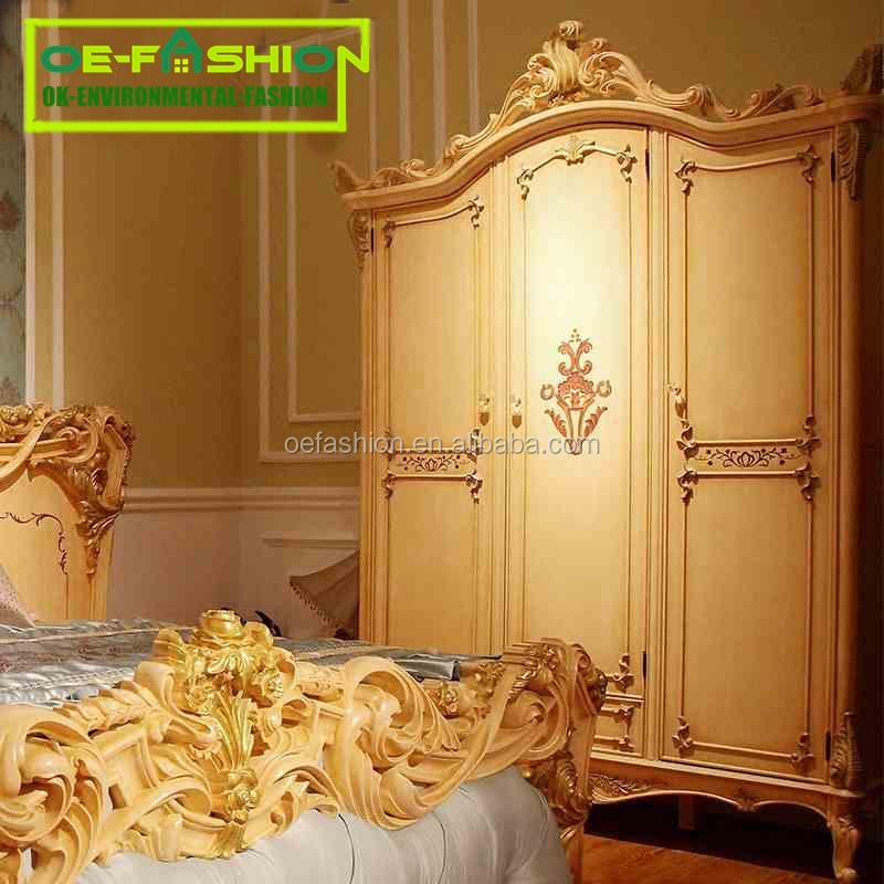 Oe Fashion Antique Bedroom Design Classic Furniture Luxury Solid Wood Wardrobe Buy Modern Design Bedroom Furniture Wardrobe Antique Solid Wood Armoire Wardrobe Rubber Wood Wardrobe Product On Alibaba Com