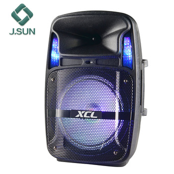 High quality 8 inch woofer portable trolley speaker with usb