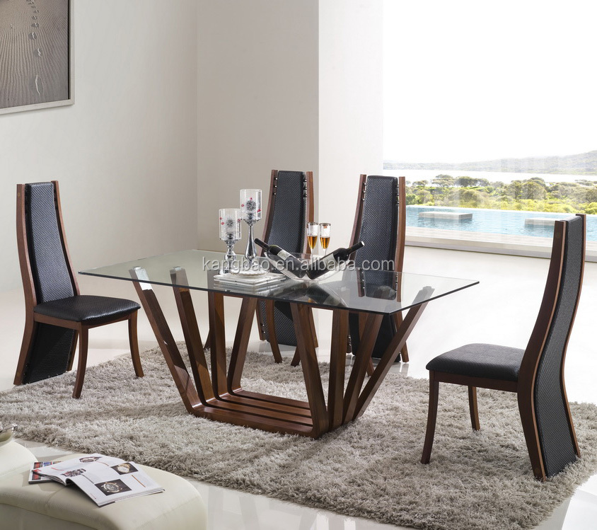 Tempered Glass Morden 8 Seater Dining Table Set View Modern Dining Set Vv Sofa Product Details From Foshan City Shunde Districe Longjiang Town Kangbao Furniture Co Ltd On Alibaba Com