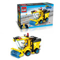 Kids Educational Toys  Cleaner Truck DIY Assembling Building Blocks Toy Kit 102pcs set