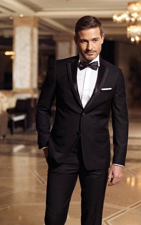 2015 New Arrival Classic Men's Suit Tuxedo Red Suits And