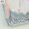 Pink Iridescent / Silver Hologram
