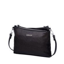 AMELIE GALANTI Женская сумка через плечо мягкая удобная Высокое качество PU благородный и Особенный стиль Наклонные карманы мода(Китай)