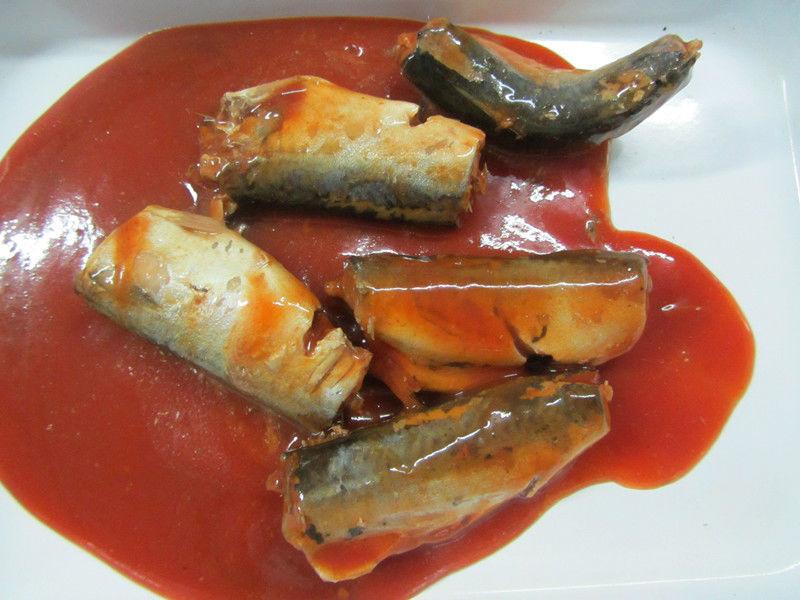 Лучшая консервированная рыба, консервированная скумбрия с BRC HACCP, халяльная скумбрия, жестяная рыба