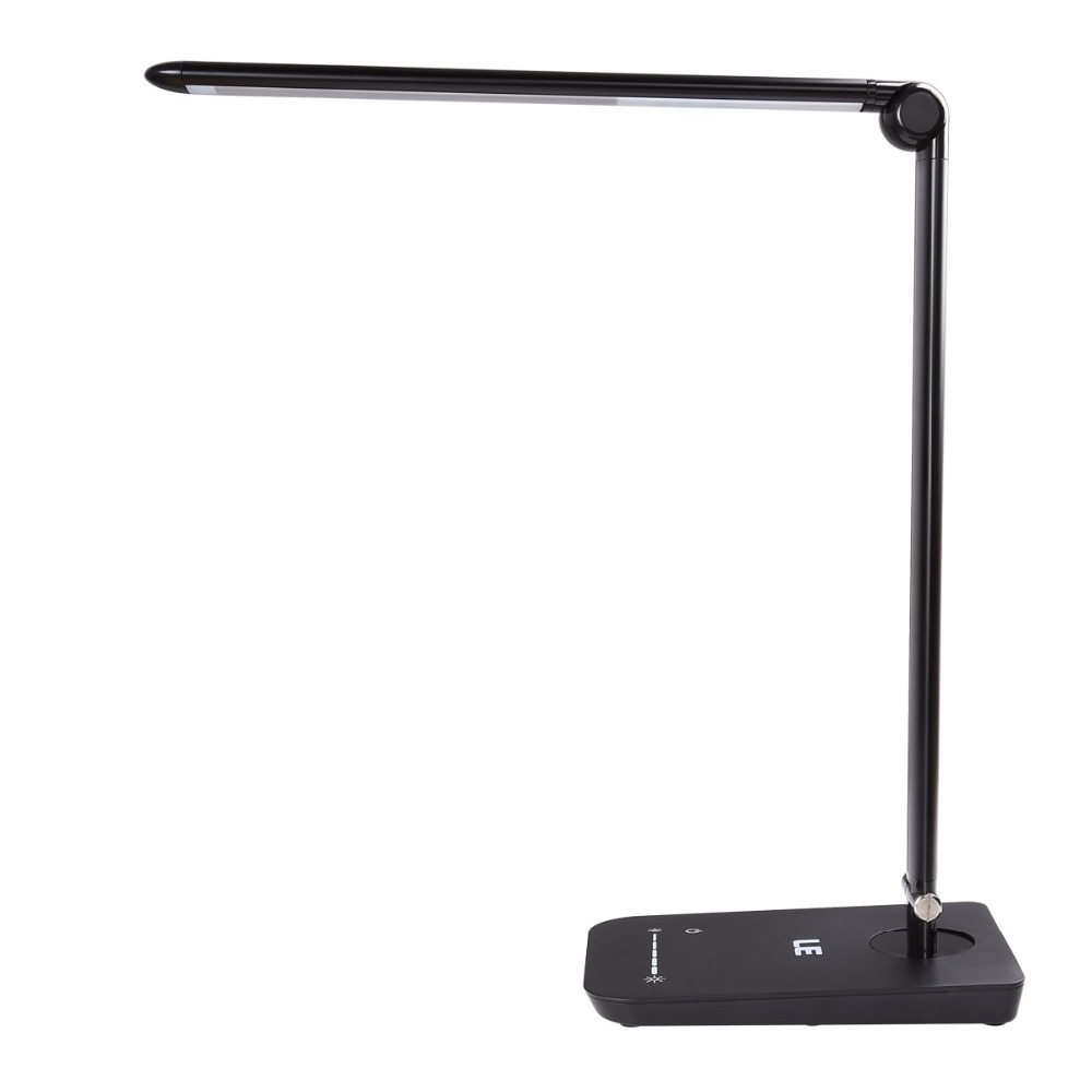 le 8w dimmable led desk lamp 7 level brightness touch sensitive control folding table lamps. Black Bedroom Furniture Sets. Home Design Ideas