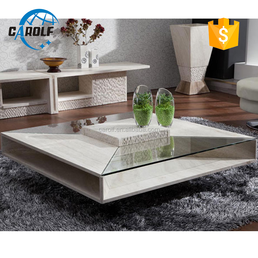 Modern Nature Travertine Glass Center Table Square Coffee Table Buy Nature Travertine Coffee Table Glass Center And Coffee Tables Living Room Square Coffee Table Product On Alibaba Com [ 1000 x 1000 Pixel ]