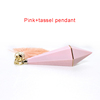KH018,Pink+tassel
