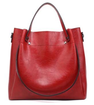 Винтажная женская сумка, роскошная, масло, воск, кожа, сумка на плечо, повседневная, большая, вместительная, Bolsos Trunk Tote, сумка-мессенджер, 2020 C874(Китай)